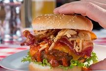 Better Burger Recipes / Build it better! Tasty, juicy burgers for big appetites.