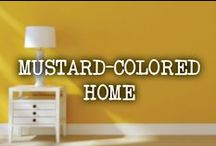 Mustard-Colored Home / Yellow mustard décor and design for your home. / by French's
