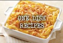 One Dish Recipes / One pot meals the whole family will enjoy. / by French's