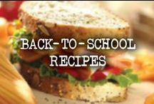 Back-To-School Recipes / Meal ideas for school days and nights.  / by French's