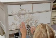 Decoupage and Painting Furniture / Decoupage and Painting Furniture