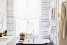 Bathroom Ideas / The bathroom needs to be the calmest room in a home. Here are some bathroom ideas we think are worth considering.