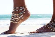 ❤  Anklets / Enkelbandjes