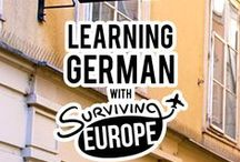 Learn German with us! / With 1 month to learn German and pass the A1 German exam, we began an intense German class. And as we learned more each day, we decided to share our new knowledge with you!