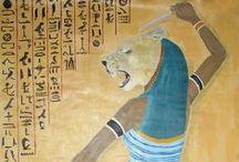 Goddess Sekhmet / Egyptian Goddess Sekhmet