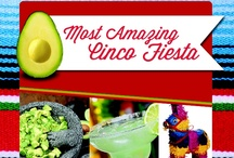 Most Amazing Cinco Fiesta / Make your #CincodeMayo fiesta the most memorable gathering of the year from food and drinks to table decor and party favors! #CincoAvocados / by Amazing Avocado