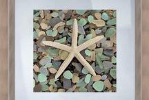 beach crafts & decor / by Marilyn Kaufer