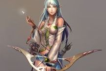 Archers - Female - Anime