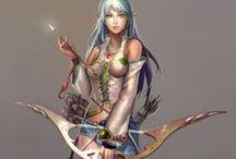 Archers - Female - Anime