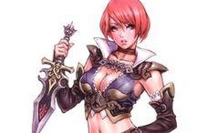 Rogue & Assasin - Female - Anime