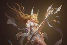 Goddess, Sacred, Saint - Anime