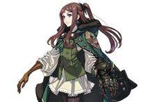 Bard - Female - Anime