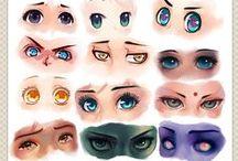 Eye drawing ref.