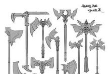 Weapons - Fantasy - Axes