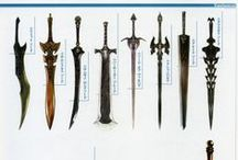 Weapons - Fantasy - Swords(&Shields)