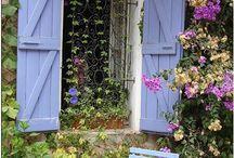 Tuinen waar Simone van houdt. / Hoe een tuin er uit zou kunnen zien.