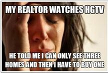 Funny real estate / Are you buying or selling a house? A Realtor? Some real estate humor.