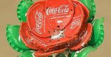 Kierrätyskäsityöt - recycling crafts / Ideoita kierrätysmateriaaleista tehtäviin käsitöihin