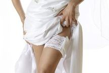 Your wedding Day! / Here comes the bride with her little secret.  Sexy French lace garter purse allows you to carry your cell phone, lipstick & other essentials discreetly by your side.  Makes a fabulous bridesmaids gift in tons of colors.
