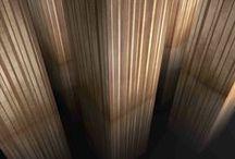 Bayadères / La collection Bayadères de Marotte propose 9 modèles de panneaux décoratifs en bois véritable: 3 univers de couleurs pour chacun desquels 3 variations à combiner les unes aux autres.