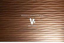 Holz in Form / Holz in form est une collection unique de panneaux massifs haut de gamme, alliant dimensions et textures en relief à la chaleur du bois naturel - utilisables dans tous les domaines de l'aménagement intérieur -