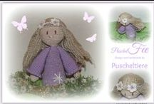 Puscheltiere / ... the crochet side of life...