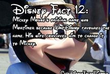 Walt Disney / Cute, funny,True and some Disney facts