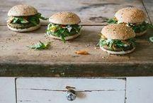 sandwich & burger.