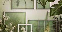 Bedroom & Studio Ideas. / A fresh start calls for a fresh coat of paint & a whole new setup!