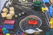 Sensory Play / Some lovely ideas to encourage sensory play for young children.