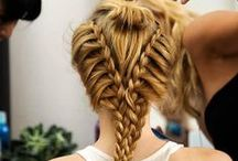 Braided Hairstlyes / Finding interesting hairstyle is hard, I have found pins that suit long and medium hair :)