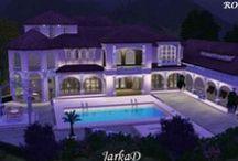 Case The Sims 3 / Immagini di case particolari ( esterni ed interni) del videogioco The Sims 3