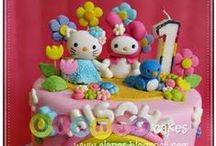 Cute Kawaii Crafts / Cute, Kawaii, Crafts , Hello Kitty, Twin Star, Rilakkuma リラックマのポーチガム登場!Korilakkuma, / by Beth Maye