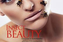Insect Beauty / Insect Beauty for HUF Magazine  Model // Jasmine Schirmer  Make Up // Christine Eleven @21Agency  Photographer // Sarah-Rebekka