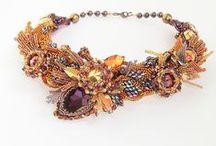 Necklace beaded inspiration / kolie, naszyjniki