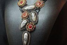Bead Embroidery bizu / obszycia koralikami