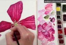 Painting technics