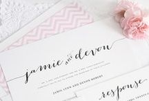 Stationary / Invitations and inspirations.