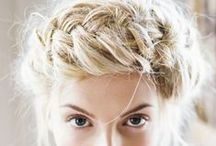 Bridal hair / Hair styles for you wedding day.