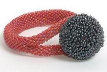 Bead rope crochet / szydełkowe naszyjniki z koralikow