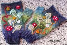 crochet gloves / rekawiczki