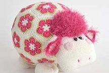 crochet toys / zabawki