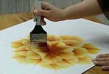 Painting - One Stroke / painting technics