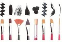 Painting - Brushes