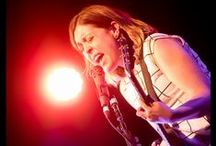 Sleater-Kinney / Concert Shots of Sleater-Kinney at Warehouse Live in Houston TX. Taken by Concert Photographer David Block