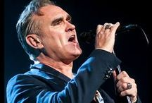 Morrissey / Images of Morrissey taken by an extremely nervous and absolutely starstruck David Block