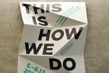 Flyer Design / Design und Layout Inspirationen