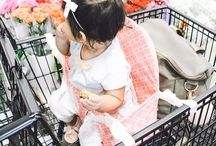 Buggy Bench / Buggy Bench is the perfect portable solution for successful grocery shopping with your toddler or multiples. Once unfolded, Buggy Bench turns into a comfortable, safe and secure baby shopping cart seat for an enjoyable grocery shopping trip with your child.