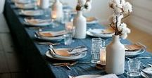 [ Table Setting ] / Decorating the table