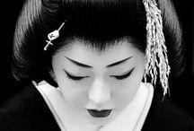 Geisha inspired shoot ideas